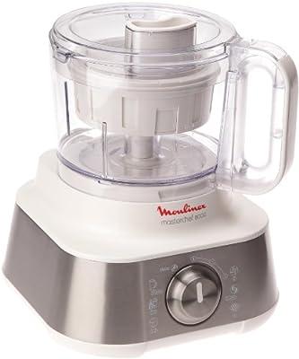 Moulinex Masterchef 8000 - Robot de cocina (3 L, Plata, Blanco ...