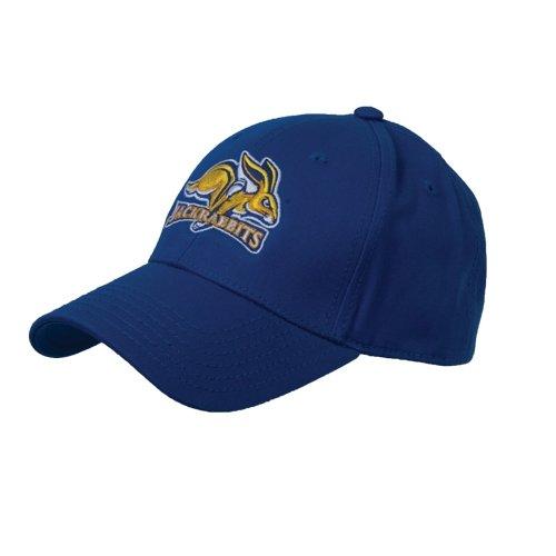 South Dakota State Jacks Royal Heavyweight Twill Pro Style Hat 'SDSU Jack Rabbits'