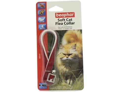 (2 Pack) Beaphar - Cat Flea Collar Velour