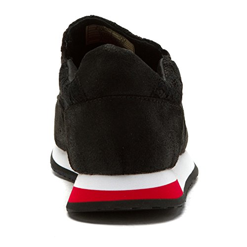 Glädje Och Mario Kvinna Placer Mode Sneakers Svart
