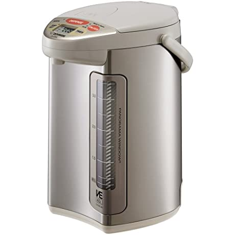 Zojirushi CV DSC40 VE Hybrid Water Boiler And Warmer Stainless Steel