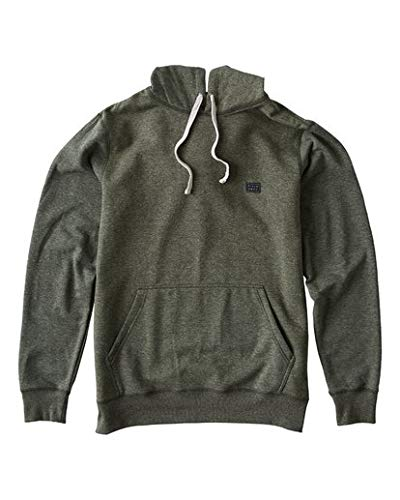 - Billabong Men's All Day Pullover Hoodie Dark Military Large