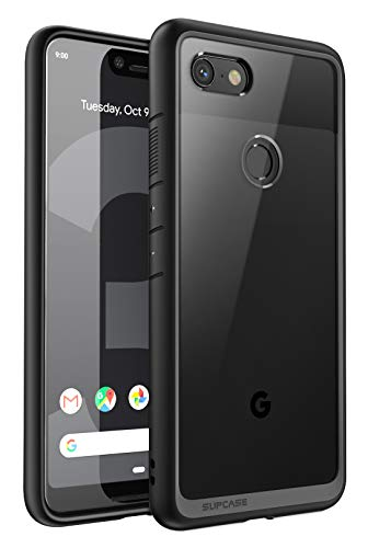 Google Pixel 3 XL Case,SUPCASE Unicorn Beetle Style Series Clear Protective TPU Bumper PC Premium Hybrid Case for Google Pixel 3 XL 2018 Release -Retail Package (Black)