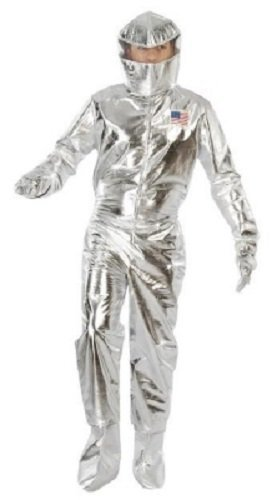 Plateada Para Hombre Astronauta Space Cadet Americano Alrededor ...