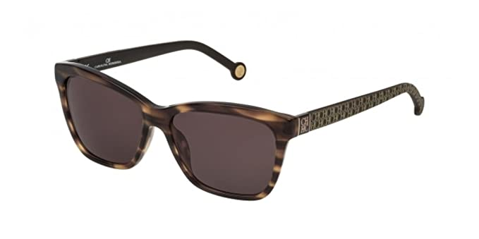 c394c01dcc Carolina Herrera SHE701 BROWN GRAY STAMPED LOGO (06HN) - Gafas de sol:  Amazon.es: Ropa y accesorios