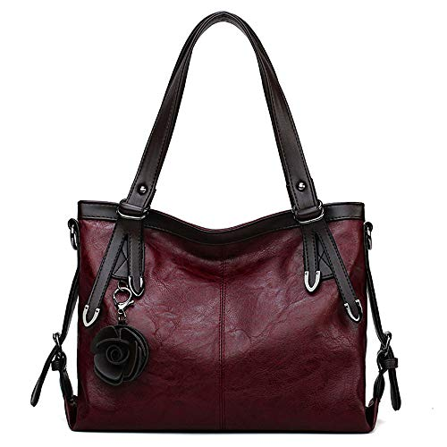 Womens Leather Bags Women Handbags Female Crossbody Bags For Women's Shoulder Bags Ladies Tote Woman Bag Red