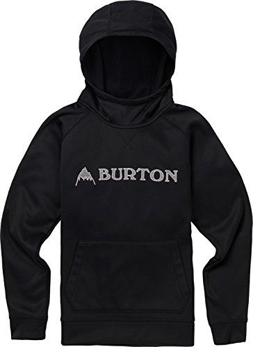 Burton Boys Crown Bonded Pullover Hoodie, True Black W19, X-Large