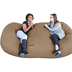 Xorbee 8-Foot Foam Filled Bean Bag Lounger Chairs