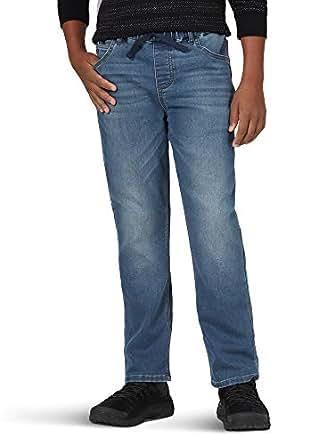 Wrangler Authentics Kids' Big Boy's Knit Denim Jean, Harbor, 8 Husky