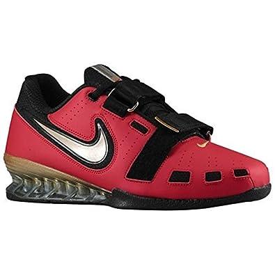 Nike Romaleos II Power Lifting Shoes - Varsity Red/Met Gold/Black (11.5