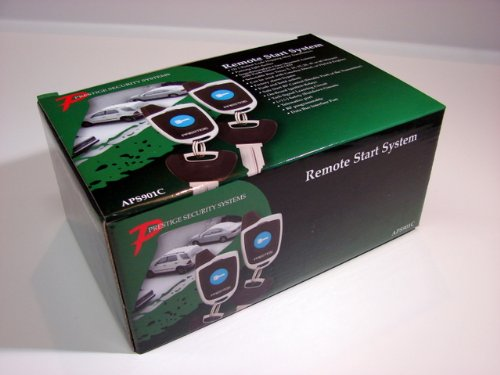 Audiovox APS901C Car Prestige Long Range Remote Start Only System by Audiovox