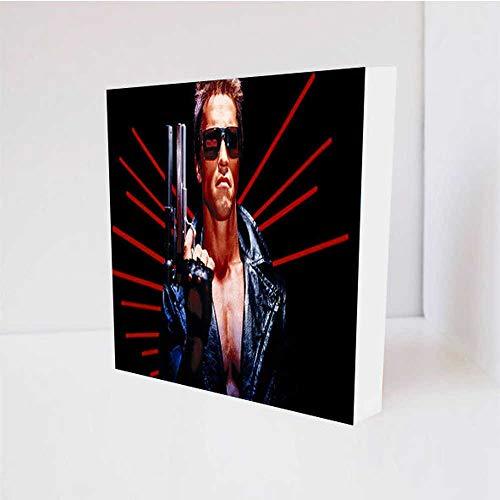 Quadro Decorativo - Arnold Schwarzenegger Cms - Tag 16x16