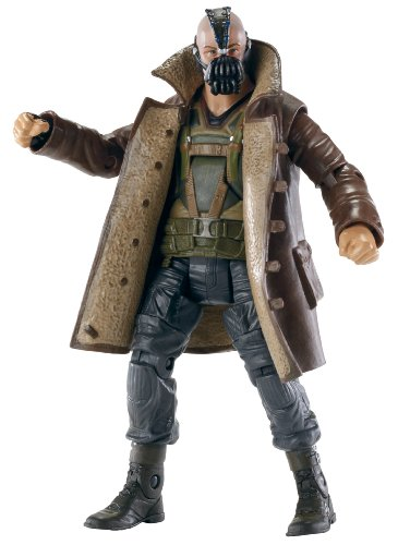 (Batman The Dark Knight Rises Movie Masters Collector Bane Figure)