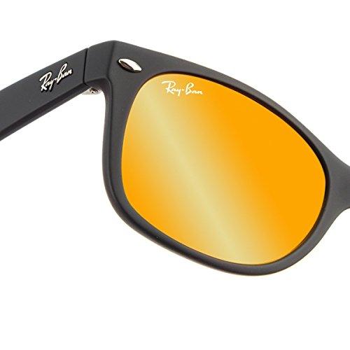 Ray-ban New Wayfarer, Montures de lunettes mixte adulte, Black Flash (Black Flash), 52 mm