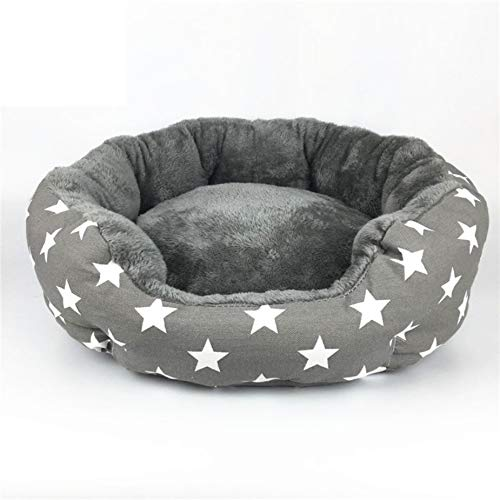 Sproud Dog Bed Cat Bed Soft Pet Pad Cushion Pet Mat Dog House Furniture Puppy Blanket Pet Bed Removable Pillow Small Medium Dogs,Diameter 46cm ()