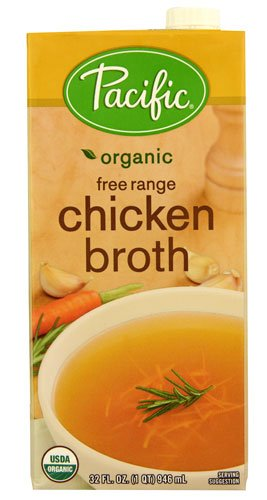 Pacific Natural Foods Organic Free Range Broth Chicken -- 32 fl oz - 2 pc