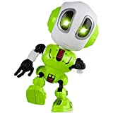 Tisy Fun Toys for 3-12 Year Old Boys, Talking Robot for Boys Toddlers Infant Kids Christmas Birthday Presents Gifts for 3-12 Year Old Boys Toy Age 3-12 Stocking Stuffer Fillers Green TSUKTR01