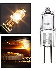 S/V Halogeenlamp G4 Oven Lamp Ovenlamp 12V 20W Oven Gloeilampen 500°C Hittetolerantie Gloeilampen voor oven en magnetron Gloeilampen