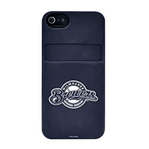 Wishing Milwaukee Brewers iPhone 5 Silicone Soft Case with Card Pocket - Tribeca