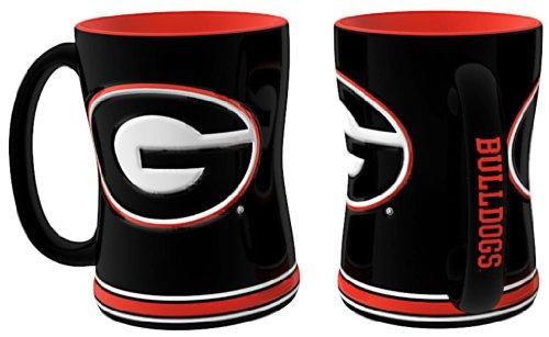 Georgia Bulldogs 15 oz Relief Mug - - Mall Georgia