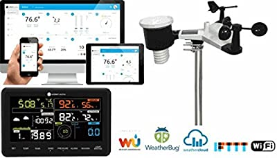 Ambient Weather WS-2902A Smart WiFi Weather Station with Remote Monitoring and Alerts by Ambient Weather
