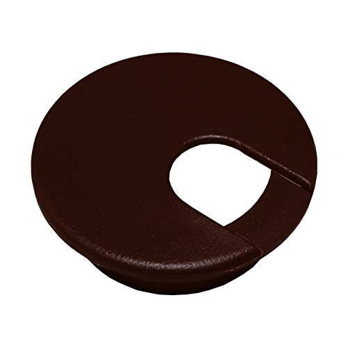"1 Desk Cord Cable Wire Grommet Brown 2"" #1035"
