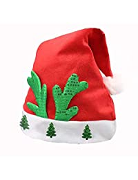 Buonissimo Santa Hat Christmas Hat Classic Christmas Decoration Best Gift Christmas Party Festive