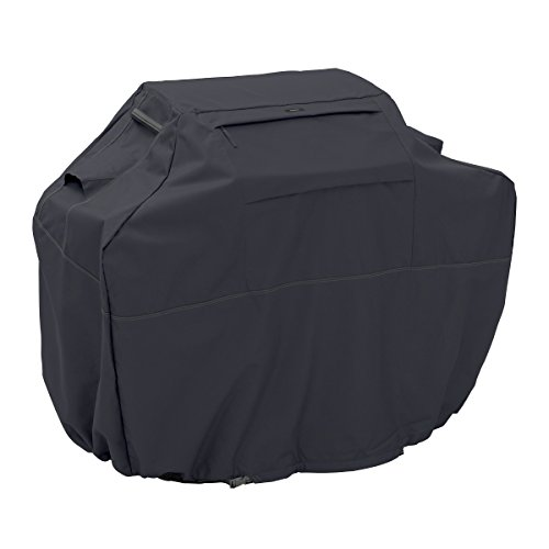 Classic Accessories Ravenna Grill Cover, Medium, Black