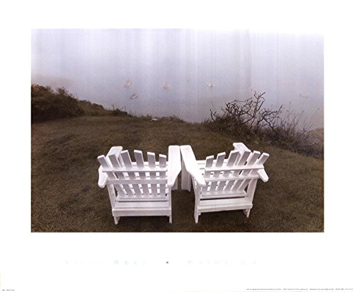(Maine Chair by Vicki Reed Art Print, 24 x 20 inches )