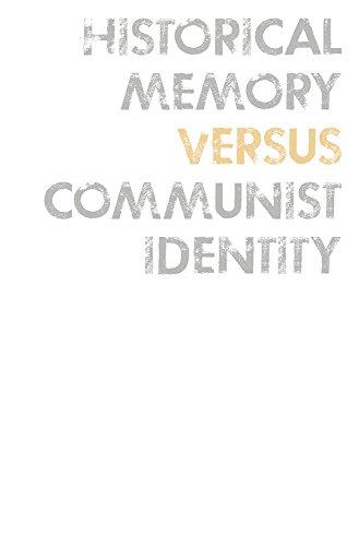 Historical Memory Versus Communist Identity Meelis Saueauk