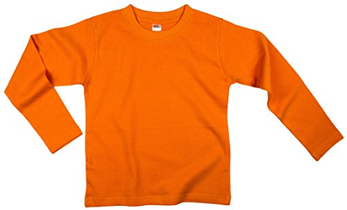 - Earth Elements Little Kids'/Toddlers' Long Sleeve T-Shirt 6T Orange