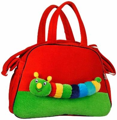 14dcd6668440 Buy Advance Baby Caterpillar Appliqué Diaper Bag - Red Online at Low Prices  in India - Amazon.in