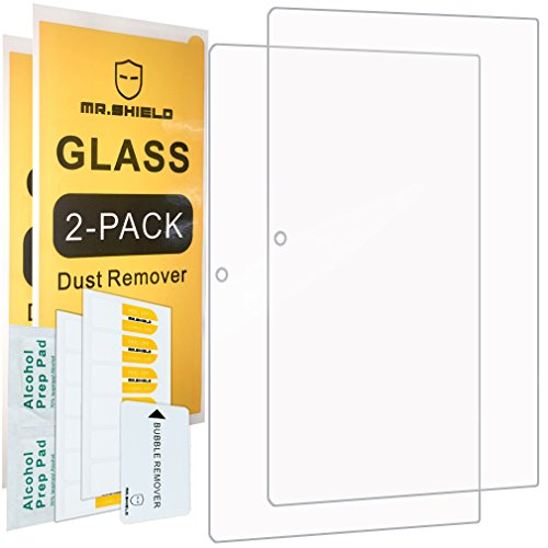 [2-PACK]-Mr Shield For Lenovo Ideapad MIIX 320 [Tempered Glass] Screen Protector [0.3mm Ultra Thin 9H Hardness 2.5D Round Edge] with Lifetime Replacement Warranty