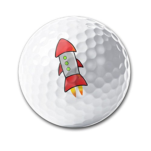 Gipsy Costume Accessories (KSH Rocket Sporting Practice Golf Balls Distance Golf Balls In Diameter 42.7MM)