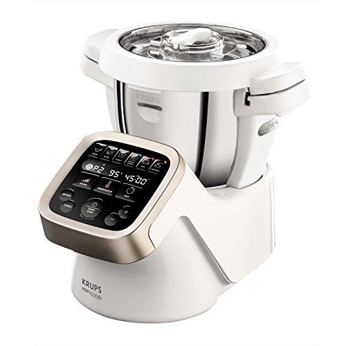 Krups Prep & Cook HP5031 Multifunktions-Küchenmaschine (1.550 Watt, bis zu 12.000 U/min, inklusive hochwertigem Zubehör)