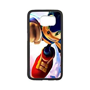 Samsung Galaxy S6 White phone case Game boy Sonic The Hedgehog JHQ4424990