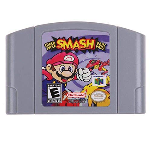 Super Smash Bros Game Card For Nintendo 64 N64 US Version