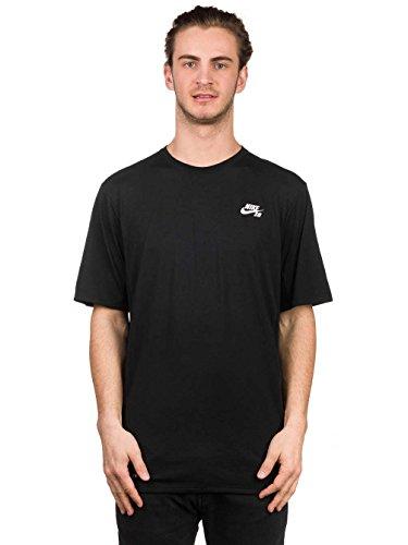 Nike SB Men's SB Skyline Dri-FIT Cool GFX Short Sleeve Shirt, Black/White, SM
