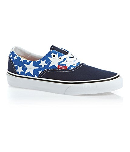 Vans Era Unisex Sneakers, Stars Dress Blues/ True White. (6.5 D(M) Mens -8 B(M) Women.)