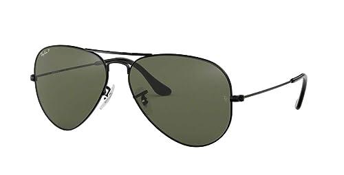 Amazon.com: Ray-Ban Aviator anteojos de sol polarizadas ...