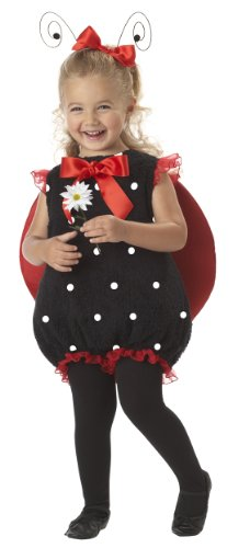 California Costumes Lil' Lady Bug Romper, Red/Black, 18-24 (Lil Ladybug Infant Costume)