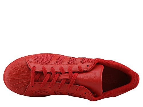 Baskets adidas Superstar Colred Colred Rosso Colred Adulte Mode Mixte TvPvx
