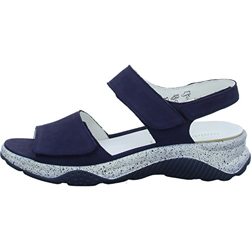 Bleu 936001 Sandalettes Femmes Waldläufer Bleu blue Blue 162 200 RxS1gnwqgt