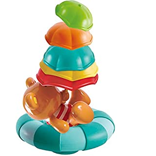 Hape Kids Little Splashers Teddy's Umbrella Stackers Bath Toy