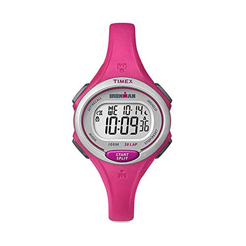 Timex Lap Mid Ironman 30 - Timex Women's Ironman 30-Lap Mid Size Pink One Size