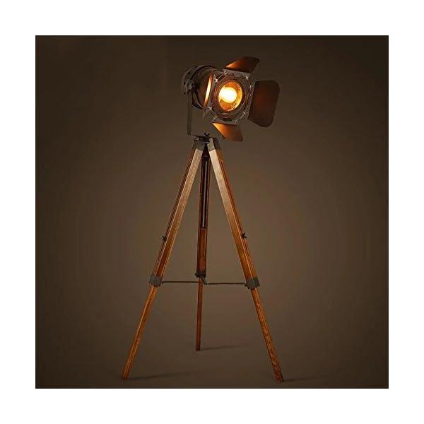 Decoluce Vintage Tripod Floor Lamp 4