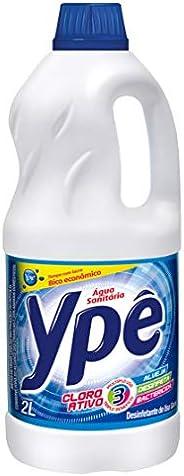 Água Sanitária 2L, Ypê, Branco, 2L