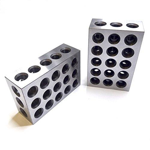 BL-123 Pair of 1 x 2 x 3 Precision Steel 1-2-3 Blocks by 1-2-3 ...