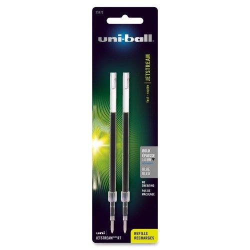 Uni-Ball Jetstream Ballpoint Pen Refill - Blue - 2 / Pack