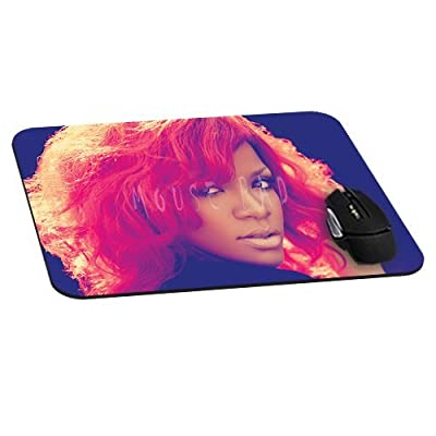 Beauty Rihanna Artist Mousepad actor actress celebrity Mouse Pads Diy Mat Unique Design Custom Mousemat